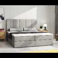 Łóżko kontynentalne z wezgłowiem 160 × 200