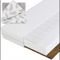 Materacyk do łóżeczka z warstwą kokosową i gryczaną