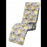 Patio Malaga Plus — poduszka na leżak ogrodowy z podnóżkiem